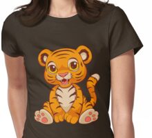 Little Tiger Womens Fitted T-Shirt