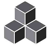 3d Blocks Photographic Print