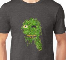 Gooey Green Zombie Head Unisex T-Shirt