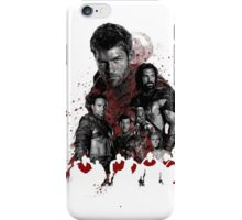 Spartacus and his rebel leaders iPhone Case/Skin