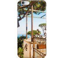 Italian Villa with ocean views : Anacapri iPhone Case/Skin