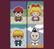 Chosen Four Square - Earthbound Pixel Art by geekmythology