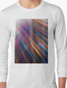 Cosmic rays in the forest Long Sleeve T-Shirt