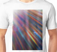 Cosmic rays in the forest Unisex T-Shirt