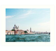 Venice : The city of Romance surrounded by sea Art Print