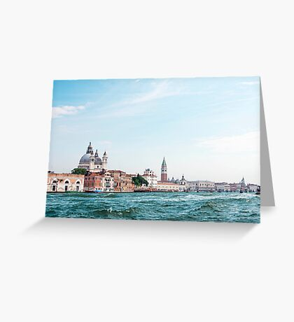 Venice : The city of Romance surrounded by sea Greeting Card