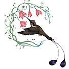 Hummingbird Coloured Version by IamDreamer
