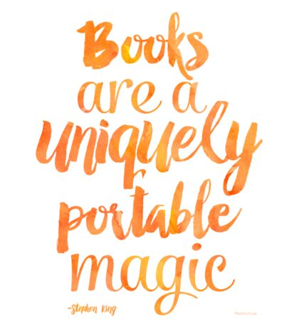 Mango Books are a uniquely portable magic  Sticker