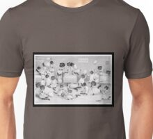 Kittens Just Can't Be Good - Louis Wain's Cat's Dormitory Unisex T-Shirt