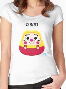 Daruma Kid Women's Fitted Scoop T-Shirt