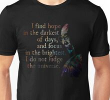 Do Not Judge the Universe - His Holiness the Dalai Lama Unisex T-Shirt