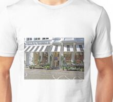 Shopping in Bruges, Belgium Unisex T-Shirt