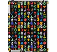 Super Smash Brothers - Series Symbols iPad Case/Skin