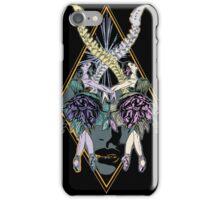 Falling Dancers iPhone Case/Skin