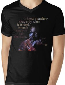 Dark Enough - Martin Luther King Jr. Mens V-Neck T-Shirt
