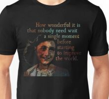 A Single Moment - Anne Frank Unisex T-Shirt