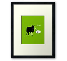 iSheep GUILTY Framed Print