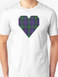 00877 Wellington #229 Fashion Tartan  Unisex T-Shirt