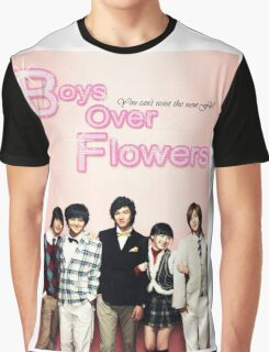 Boys Over Flowers Graphic T-Shirt