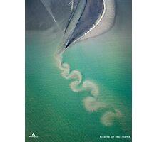 Ocean Swirl Photographic Print
