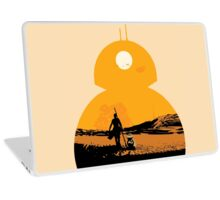 Star Wars The Force Awakens BB8 Poster Laptop Skin