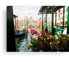 Gondolas of Venice Canvas Print