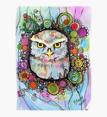 Willow the Owl Poster