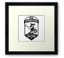 Extreme logo Framed Print