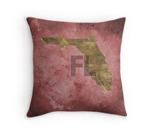Florida Texture Throw Pillow