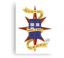 The TARDIS Canvas Print