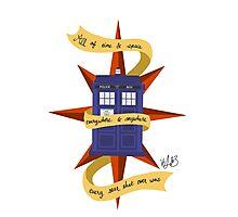 The TARDIS Photographic Print