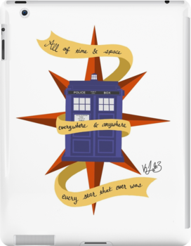 The TARDIS by Kaleigh Jacobson