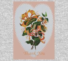 Thank You with Honeysuckle Kids Tee