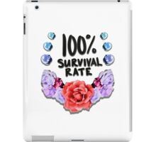 100% Survival Rate iPad Case/Skin