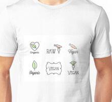 Vegan, Raw, Organic Unisex T-Shirt