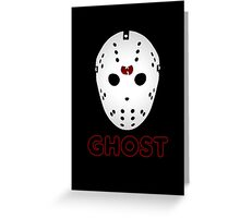 GHOST FACE 2 Greeting Card