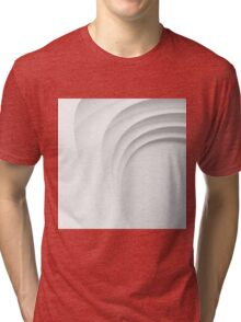 White step Tri-blend T-Shirt