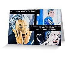 To Remind Me. To Hold Me to the Mark. Greeting Card
