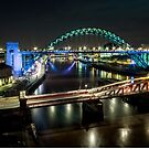 The Tyne Bridge Panoramic by Dave Hudspeth