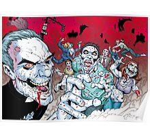 Zombie walking dead Poster