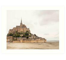 Mont Saint-Michel Art Print
