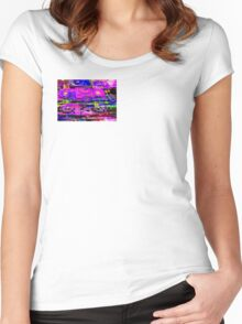 DISC DISCO Women's Fitted Scoop T-Shirt