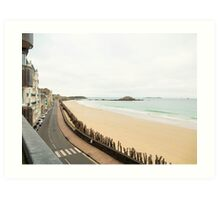 Saint-Malo : Ancient Walled Port City : Brittany, France Art Print