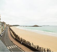 Saint-Malo : Ancient Walled Port City : Brittany, France by MyOceanBliss
