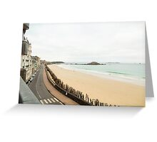 Saint-Malo : Ancient Walled Port City : Brittany, France Greeting Card