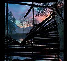 Broken window by Mats Silvan