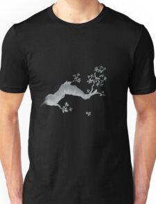 Cherry tree negative Unisex T-Shirt