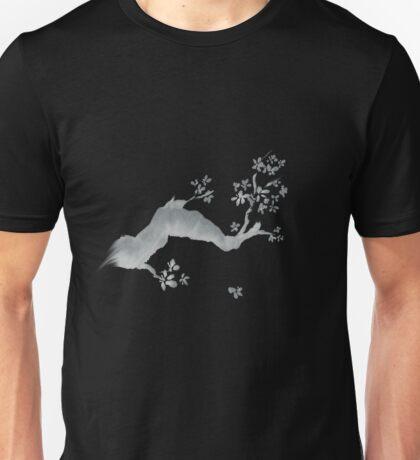 Cherry tree negative Unisex T-Shirt