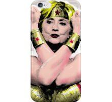 Hillary NoWonder Woman iPhone Case/Skin