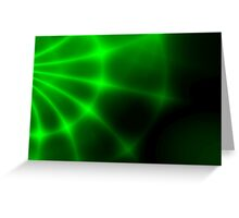 Green Hole Greeting Card